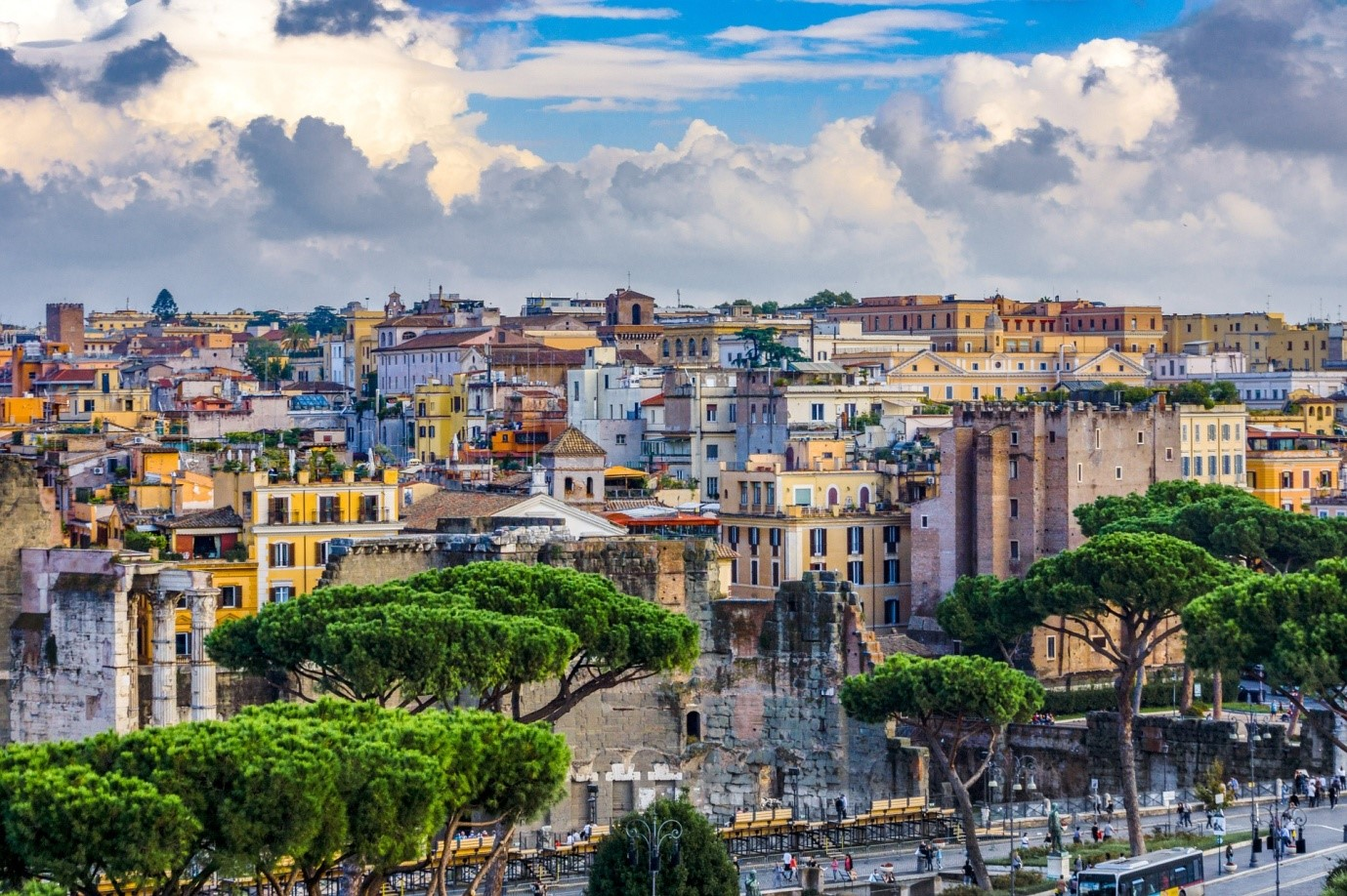 Rome and its surroundings a travel guide